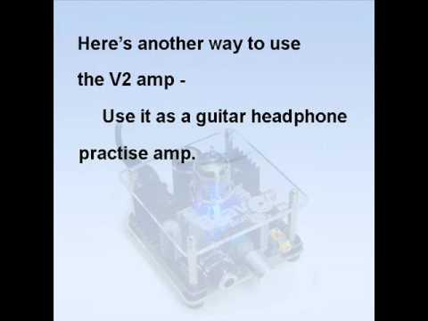 Bravo V2 Tube Headphone Amp demo.wmv