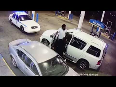 Guy smokes his brother while trying to kill cop