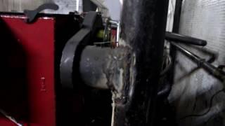 Автоматический угольный котёл с