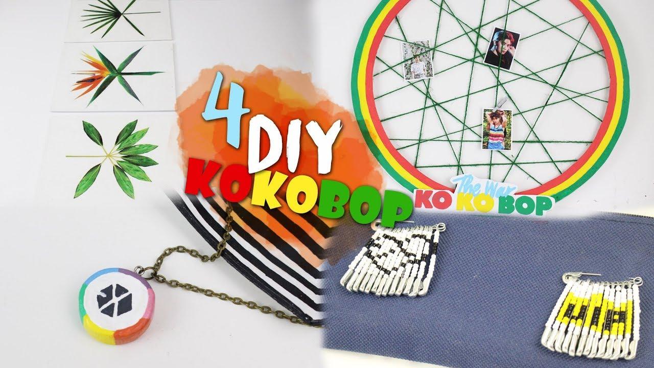 Diy Kpop 4 Manualidades Exo Kokobop K Freak Exo Comeback Kokobop The War
