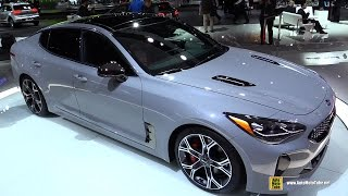 2018 KIA Stinger - Exterior and Interior Walkaround - Debut at 2017 Detroit Auto Show