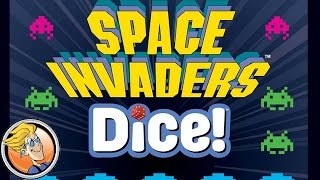 Space Invaders Dice! — game preview at GAMA Trade Show 2017