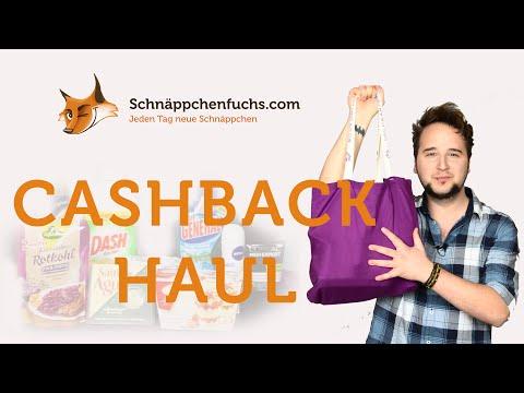GRATIS Einkauf! - Cashback Haul