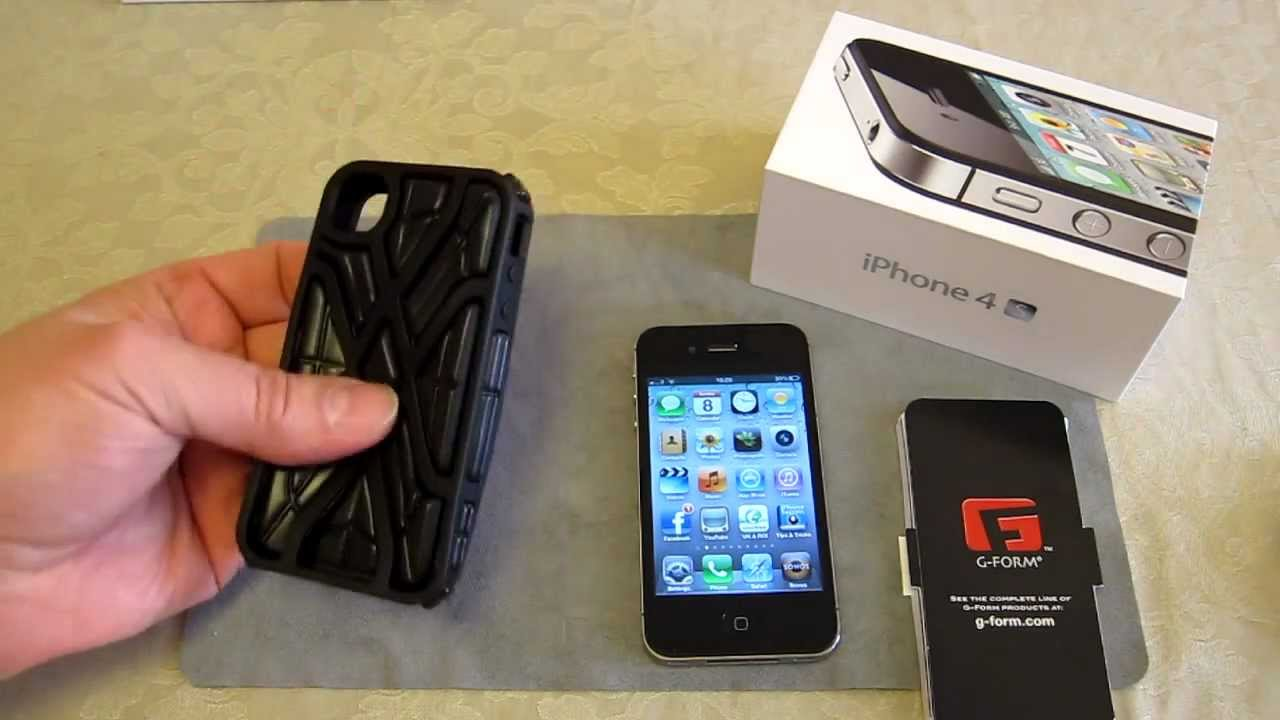 Review and dissasemble of X-Protect case by G-Form - Apple iPhone ...