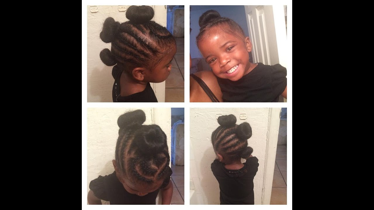 Natural Hair Styles For Babies Kids YouTube