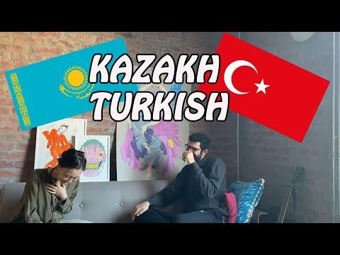 Kazak Türkçesi ve Türkiye Türkçesi karşılaştırma (Comparing Kazakh-Turkish)