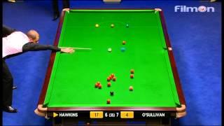 Ronnie O'Sullivan vs Barry Hawkins - WSC 2013 Final - Second session