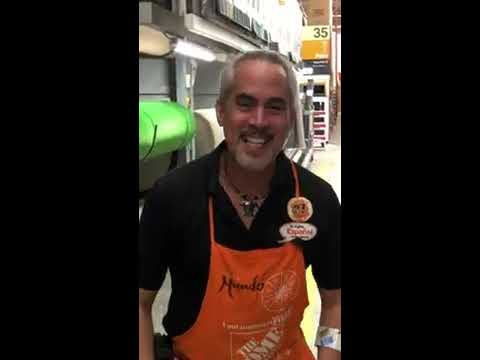 Man In Waldorf Md Home Depot Singing Lou Rawls You Ll Never Find Another Love Like Mine Youtube