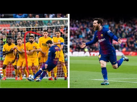 Lionel Messi   Best Free Kick with  Barcalena Team & ARGENTINA thumbnail