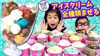 I Mixed All Baskin Robins Ice Cream Flavour