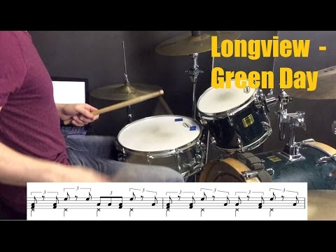 Longview Drum Tutorial - Green Day