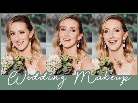Bridal Makeup Tutorial For Oily/Combination Skin 2019 |#AD | Sharon Farrell thumbnail