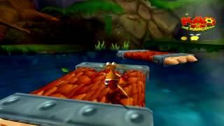 Kao the Kangaroo: Round 2 [PS2] - (Demo Disc - Playthrough) - Gameplay