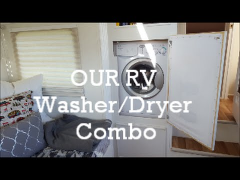 Our Rv Washer Dryer Combo How We Installed It And How We