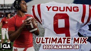 Bryce Young HS Highlights | Set To Takeover for Tua Tagovailoa 🚀💨 | ALABAMA QB | '20 Mater Dei