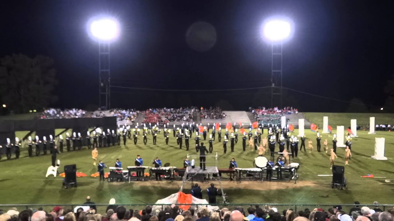Brentwood High School Band At Columbia Invitational 9 24 11 Youtube
