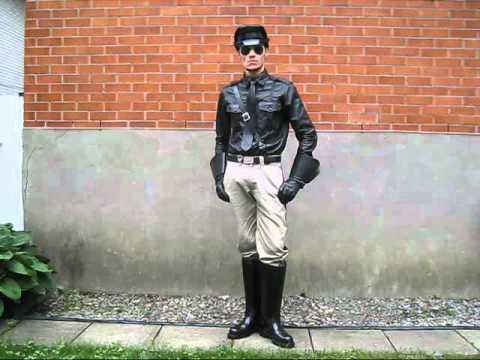 Leather Uniform Ii Youtube