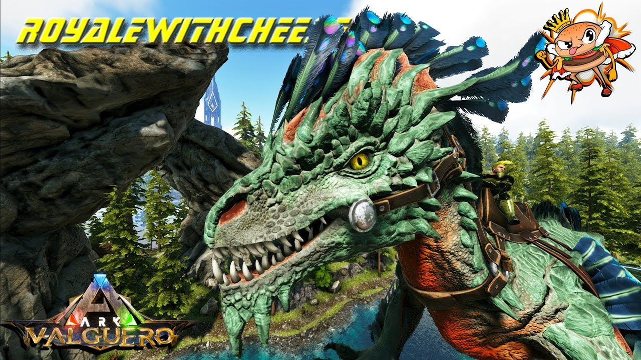 Stealing Valguero Rock Drake Eggs! New Valguero Dino Extension Mod! - Ark:  Valguero [DLC Gameplay]