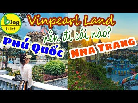 Vinpearl Land Nha Trang - Vinpearl Land Phú Quốc khu vui chơi nào đáng đi hơn?