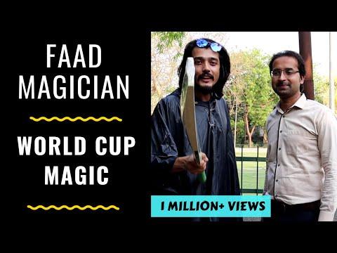 FAAD MAGICIAN- WORLD CUP MAGIC | RJ ABHINAV