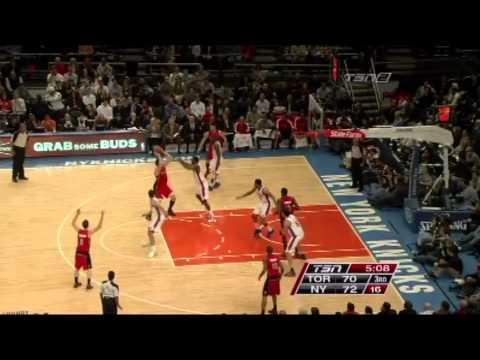 Andrea Bargnani @ New York Knicks / Dec. 8th, 2010