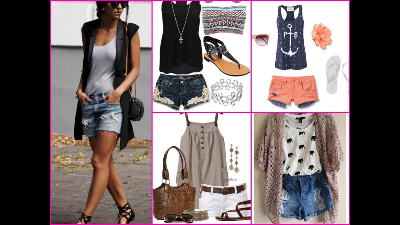 [VIDEO] - 35 Cute Casual Shorts Outfit - How To Wear Shorts this Summer 6
