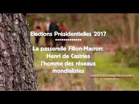 Présidentielles 2017 - Henri de Castries, la passerelle Fillon-Macron
