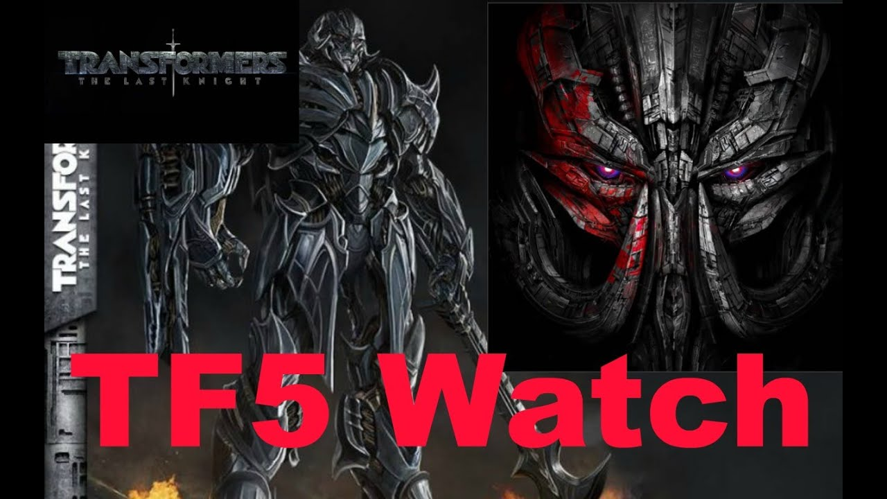 megatron s robot mode concept art revealed wow tf5 watch 55