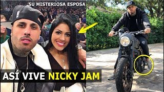 ASÍ VIVE NICKY JAM EN MIAMI 2018 CON SU MISTERIOSA ESPOSA ANGÉLICA CRUZ