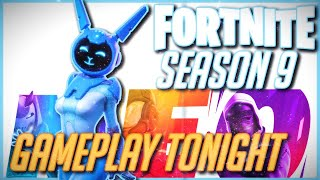 NEW Fortnite Season 9 Gameplay Update - 12-24HR Stream! - NEW Battle Pass Coming - Item Shop