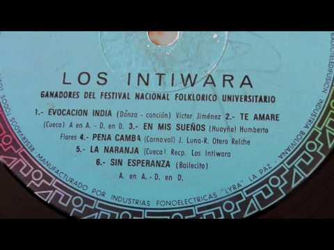 """EN MIS SUEÑOS """"INTIWARA""""  1970 (Ganadores del festival universitario)"""