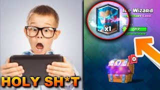Kid Passes Out After Unlocking Rarest Card in Clash Royale! Top 5 Most Insane Reactions!