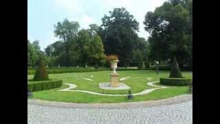 Roztocze, Park w Sieniawie, Trasa rowerowa