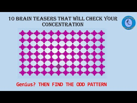 10 brain Teasers that will check your concentration   #SkillupwithGenie  #BrainTeaser