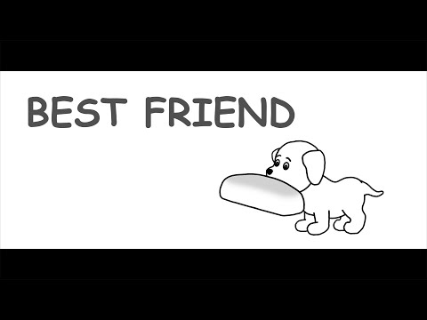 BEST FRIEND | A Touching Story Of An Innocent Puppy | Animated Short Film