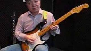 blues scale played over a7 chord