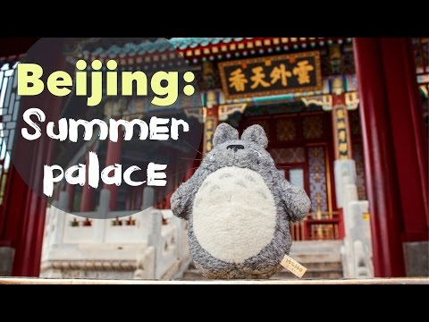 Totoro in China | Beijing: Summer Palace