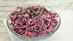 Blaukraut Salat Rohkost