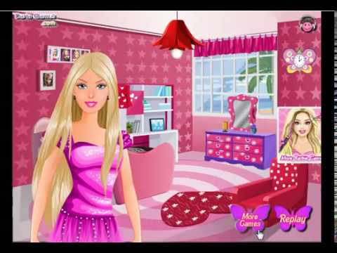 Barbie bedroom game cartoon network youtube - Barbie living room dress up games ...