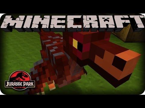 Minecraft Dinosaurs Mod - SEASON 2 - Ep # 5 'NEW DINOSAUR!'