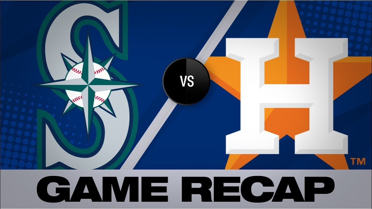 Astros belt 6 homers in win over Mariners   Mariners-Astros Game Highlights 8/2/19