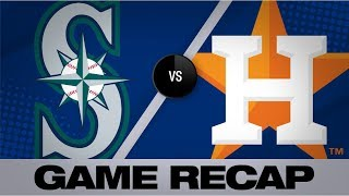 Astros Belt 6 Homers In Win Over Mariners | Mariners Astros Game Highlights 8/2/19