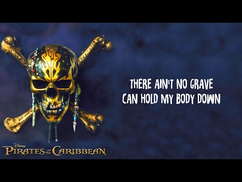 Johnny Cash - Ain't No Grave Lyrics(PIRATES OF THE CARIBBEAN 5 Dead Men Tell No Tales Trailer Song)
