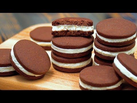 Печенье ОРЕО в Домашних Условиях | Homemade ОRЕО | Кулинарим с Таней