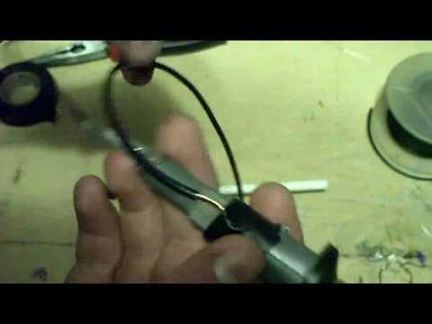 how to make a mini potato gun