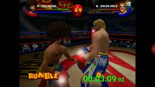 Ready 2 Rumble Boxing Round 2 N64 speedrun in 5:14.64