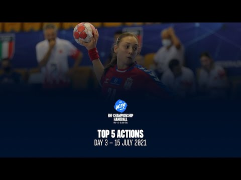 W19 EHF Championship - Top5 Actions - Day 3