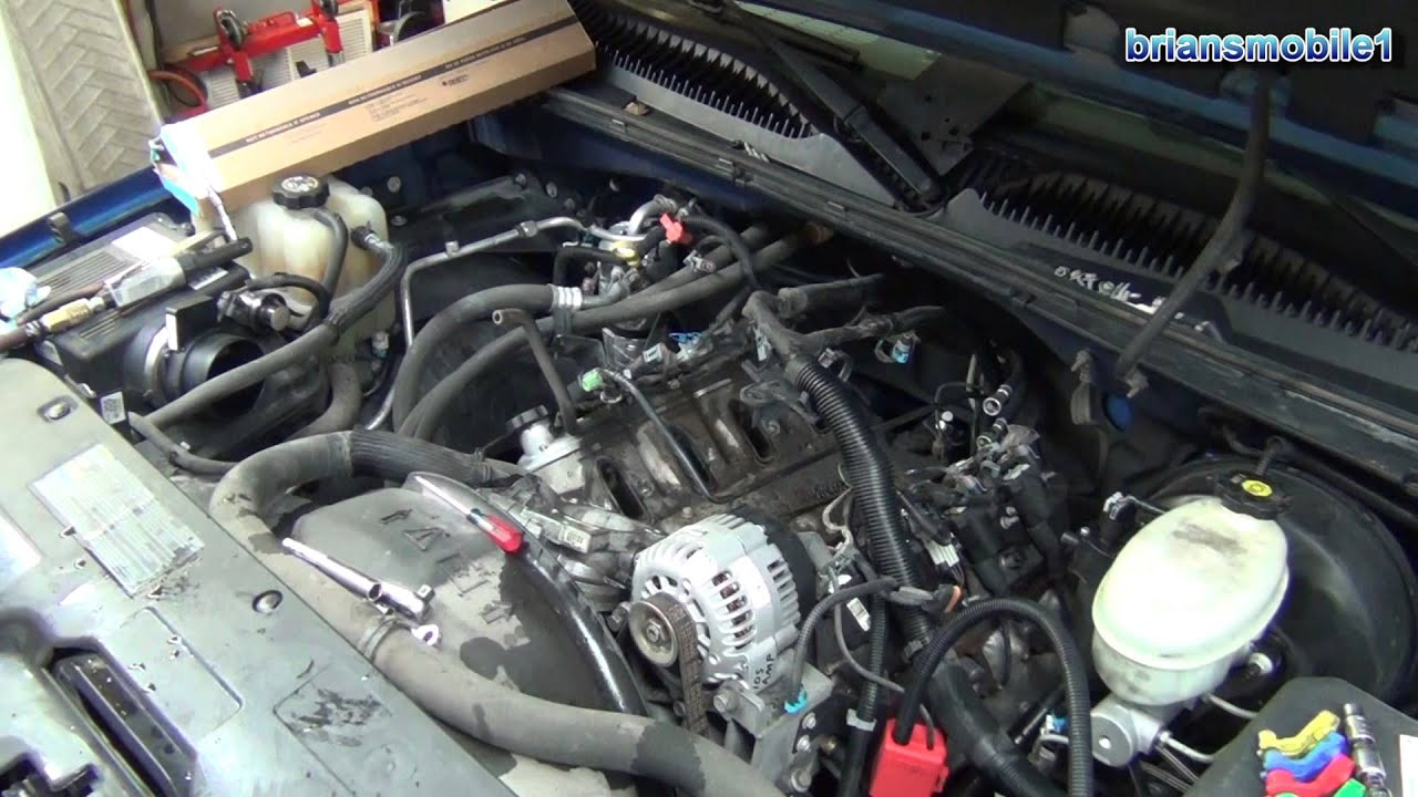 P0174 P0101 53L Intake Manifold Gasket How to Replace