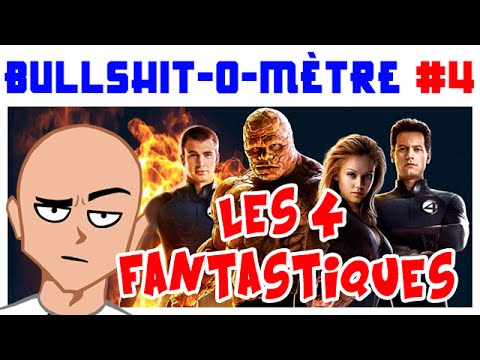 LES 4 FANTASTIQUES - BULLSHIT-O-MÈTRE #4 poster