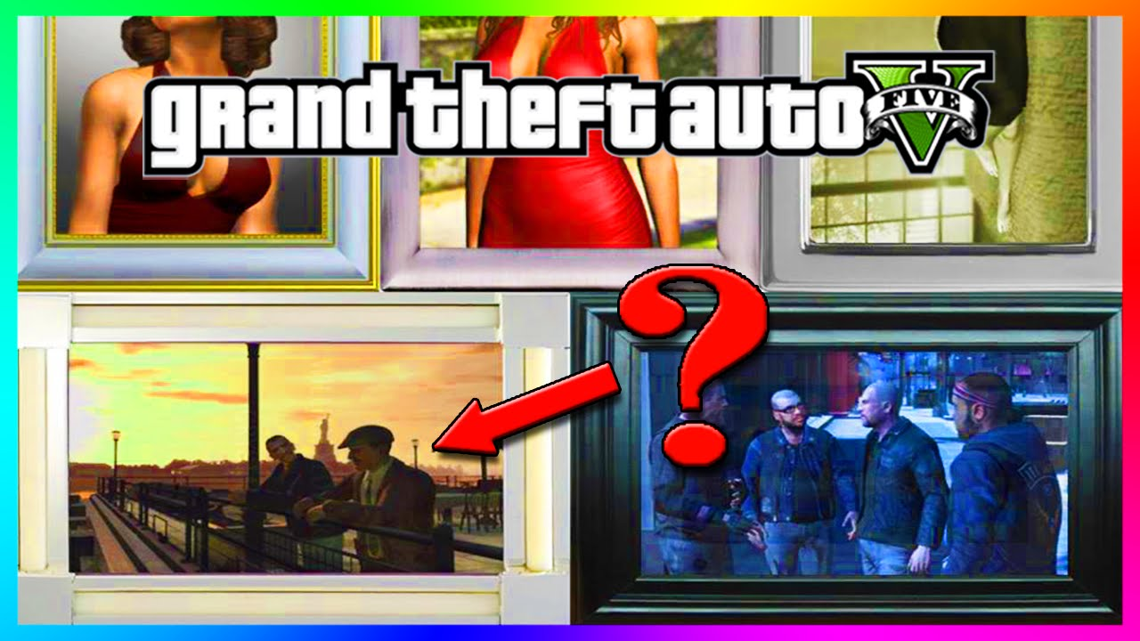 GTA 5 - NEW Niko Bellic, Lost MC & GTA IV Easter Egg & Reference Found!  (GTA 5 Gameplay)